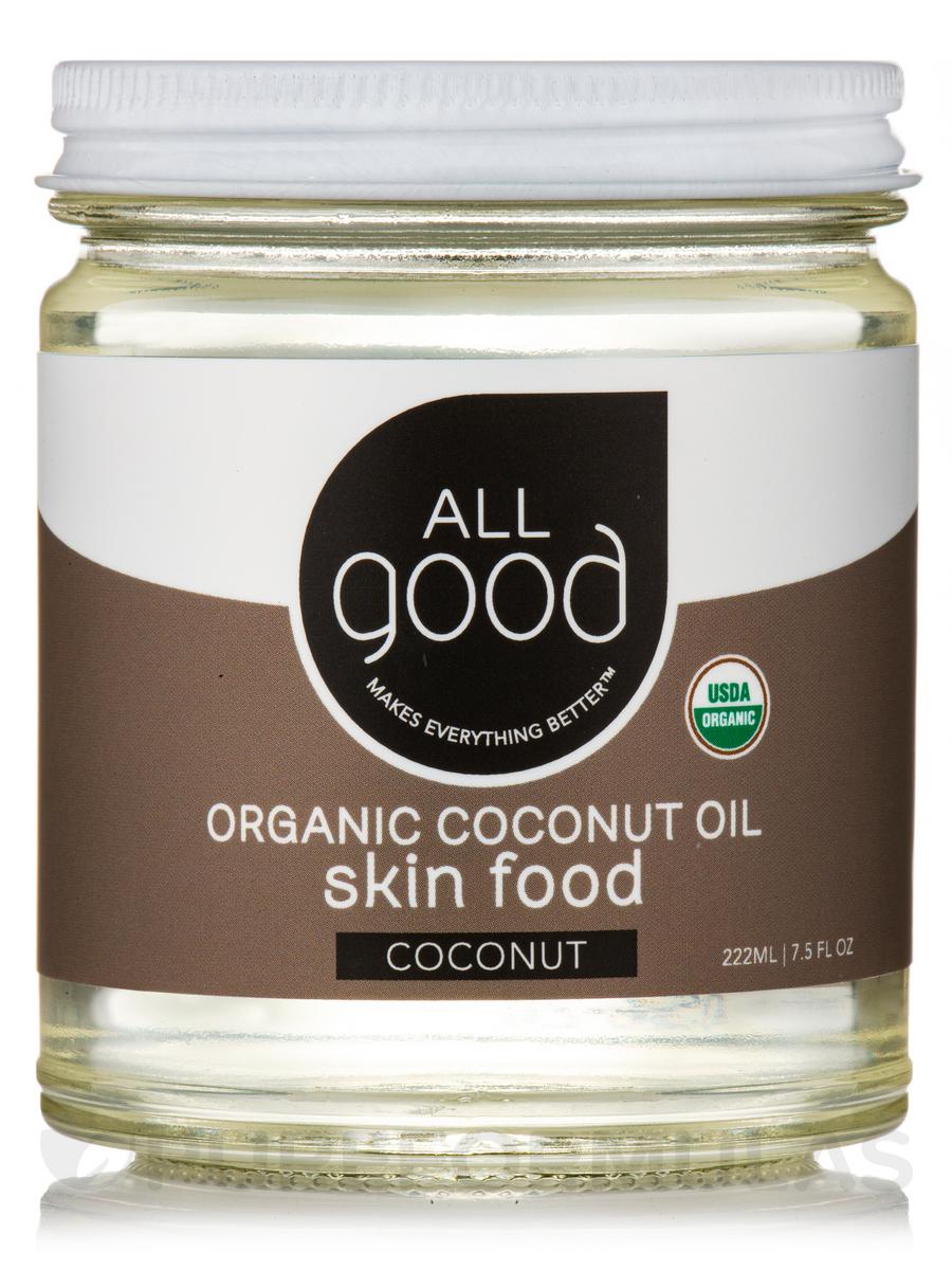 Coconut Oil Skin Food - Unscented - 7.5 fl. oz (222 ml)