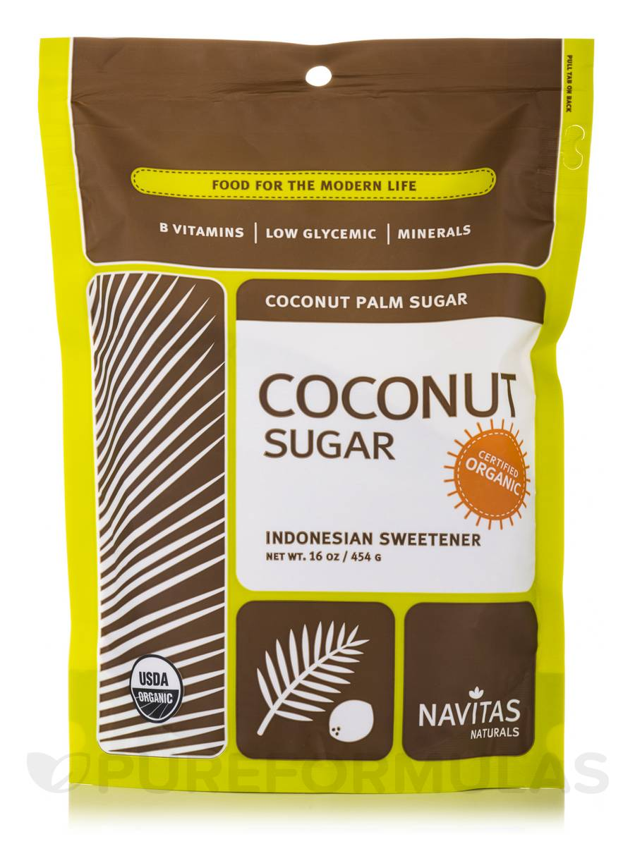 Coconut Palm Sugar - 16 oz (454 Grams)