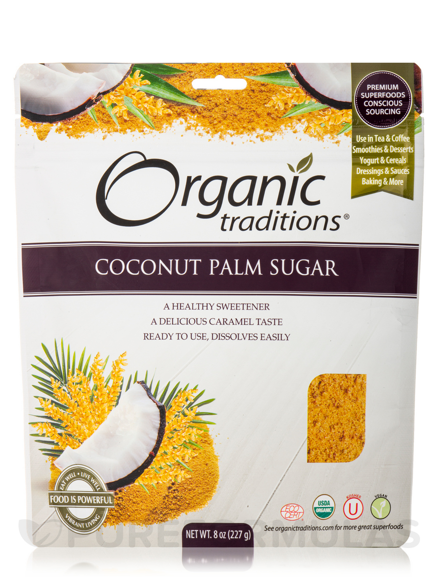 Coconut Palm Sugar - 8 oz (227 Grams)