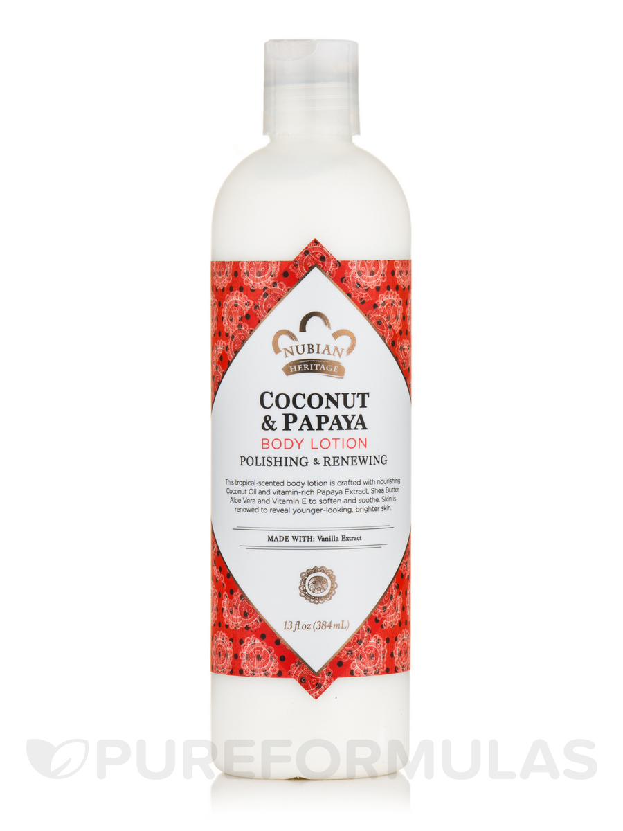 Coconut & Papaya Body Lotion - 13 fl. oz (384 ml)