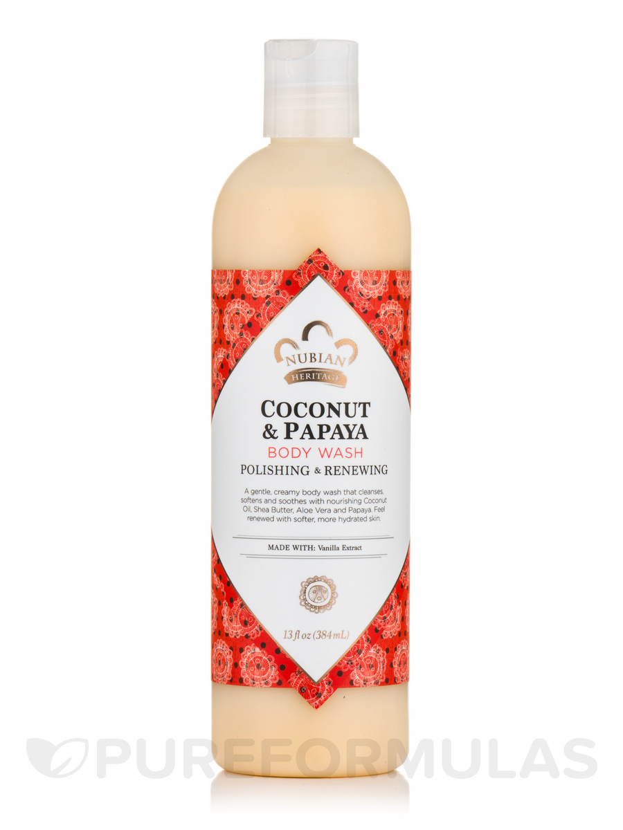 Coconut & Papaya Body Wash - 13 fl. oz (384 ml)