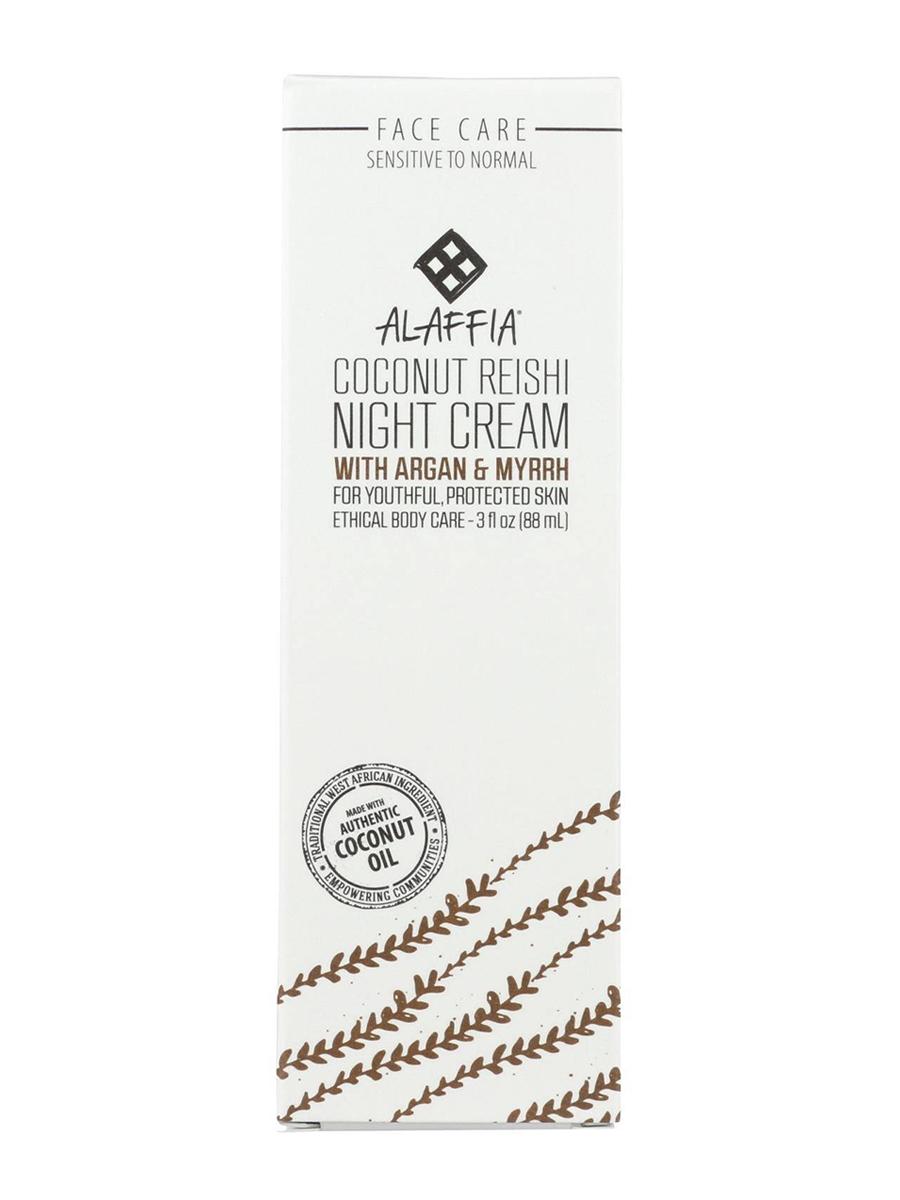 Coconut Reishi Night Cream with Argan & Myrrh - 3 fl. oz (88 ml)