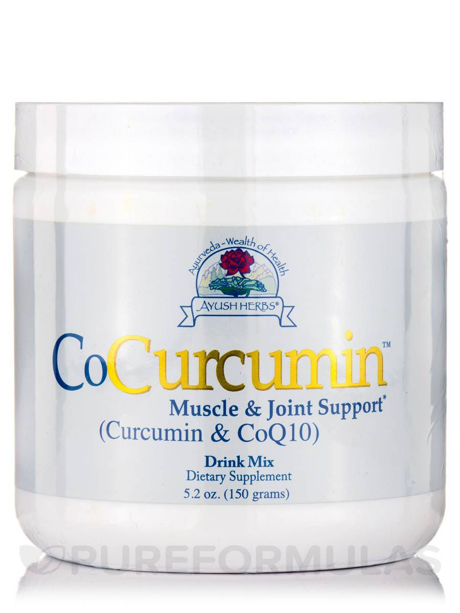 CoCurcumin Plus MCT & CoQ10 - 5 oz (150 Grams)