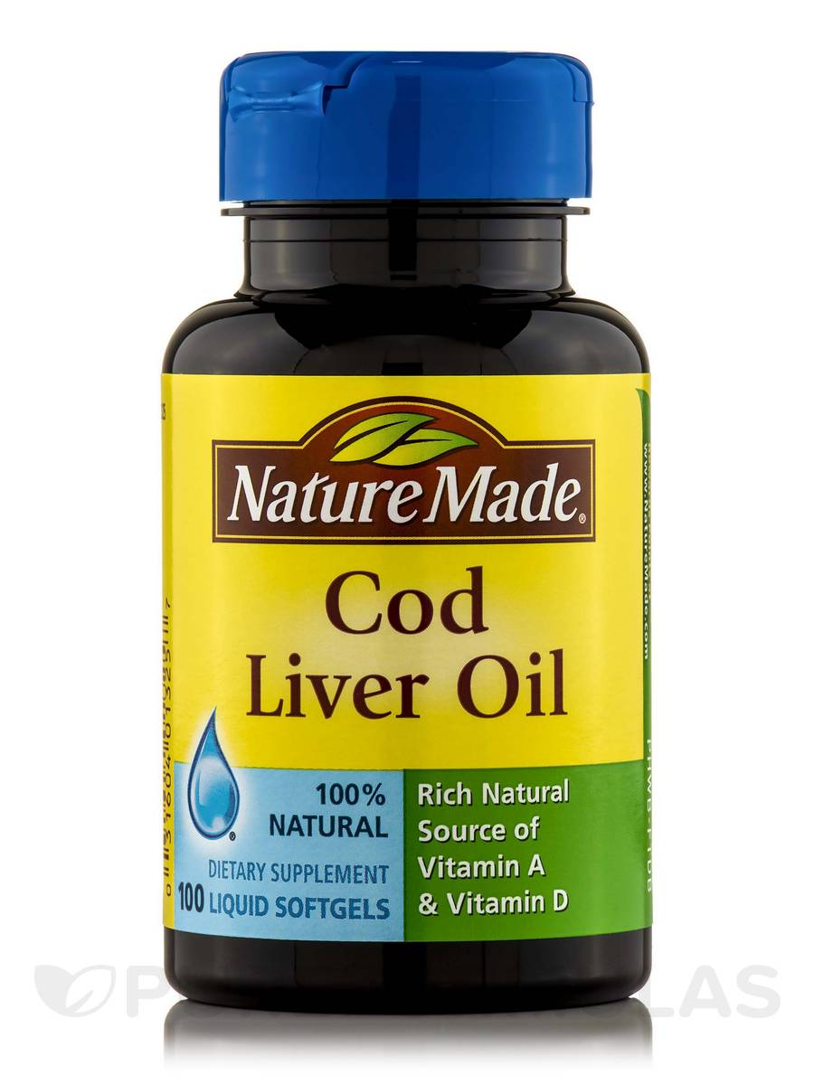 Cod Liver Oil - 100 Softgels