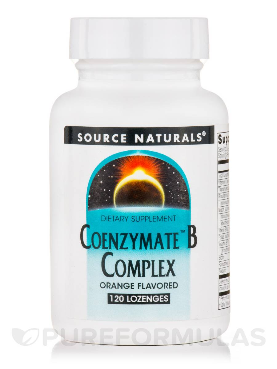 Coenzymate™ B Complex, Orange Flavored - 120 Lozenges