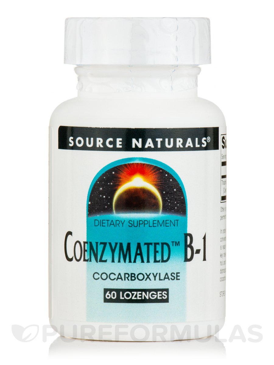 Coenzymated B-1 Sublingual 25 mg - 60 Tablets