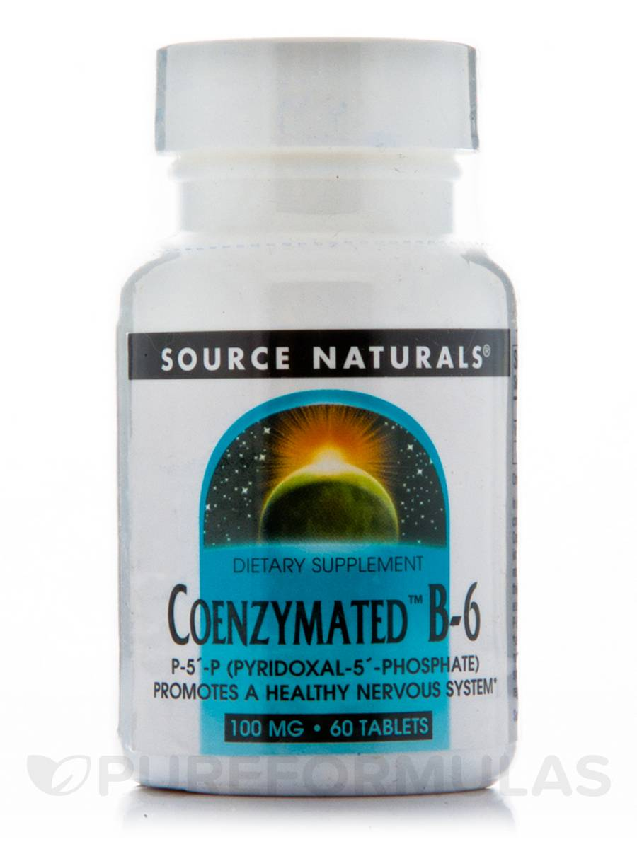 Coenzymated B-6 100 mg - 60 Tablets