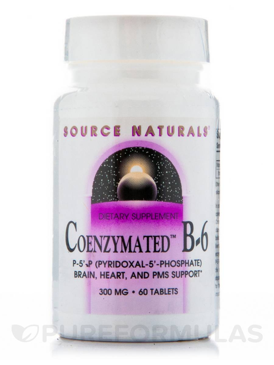 Coenzymated B-6 300 mg - 60 Tablets