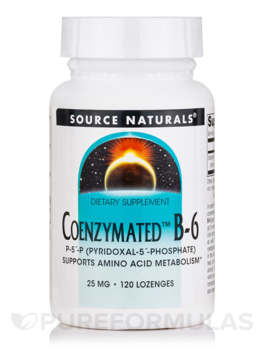 Coenzymated B-6 Sublingual 25 mg - 120 Tablets