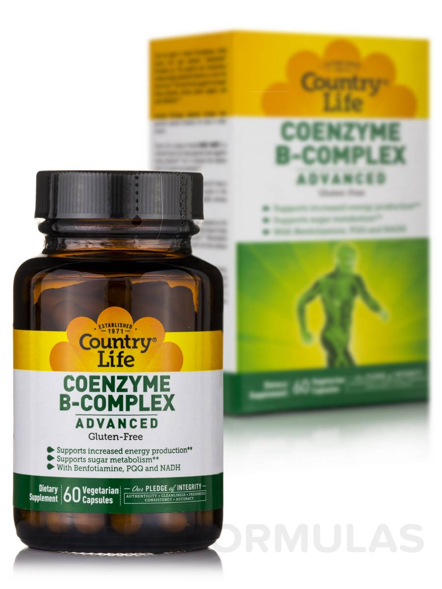 Coenzyme B-Complex Advanced - 60 Vegetarian Capsules