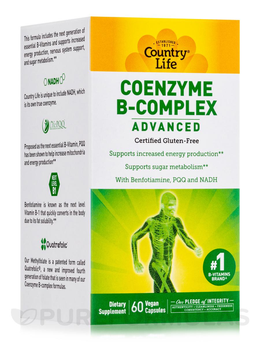 Coenzyme B-Complex Advanced - 60 Vegetarian Capsules