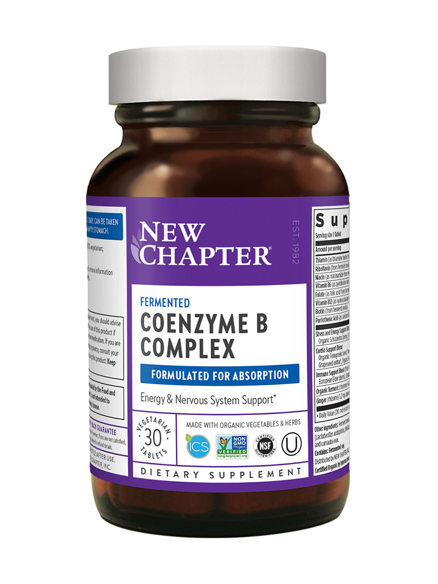 Coenzyme B Food Complex - 30 Vegetarian Tablets