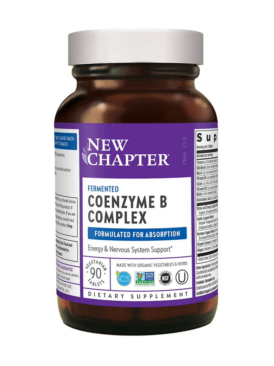 Coenzyme B Food Complex - 90 Tablets