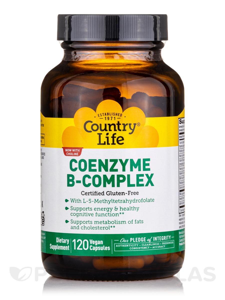Coenzyme B-Complex Caps - 120 Vegan Capsules