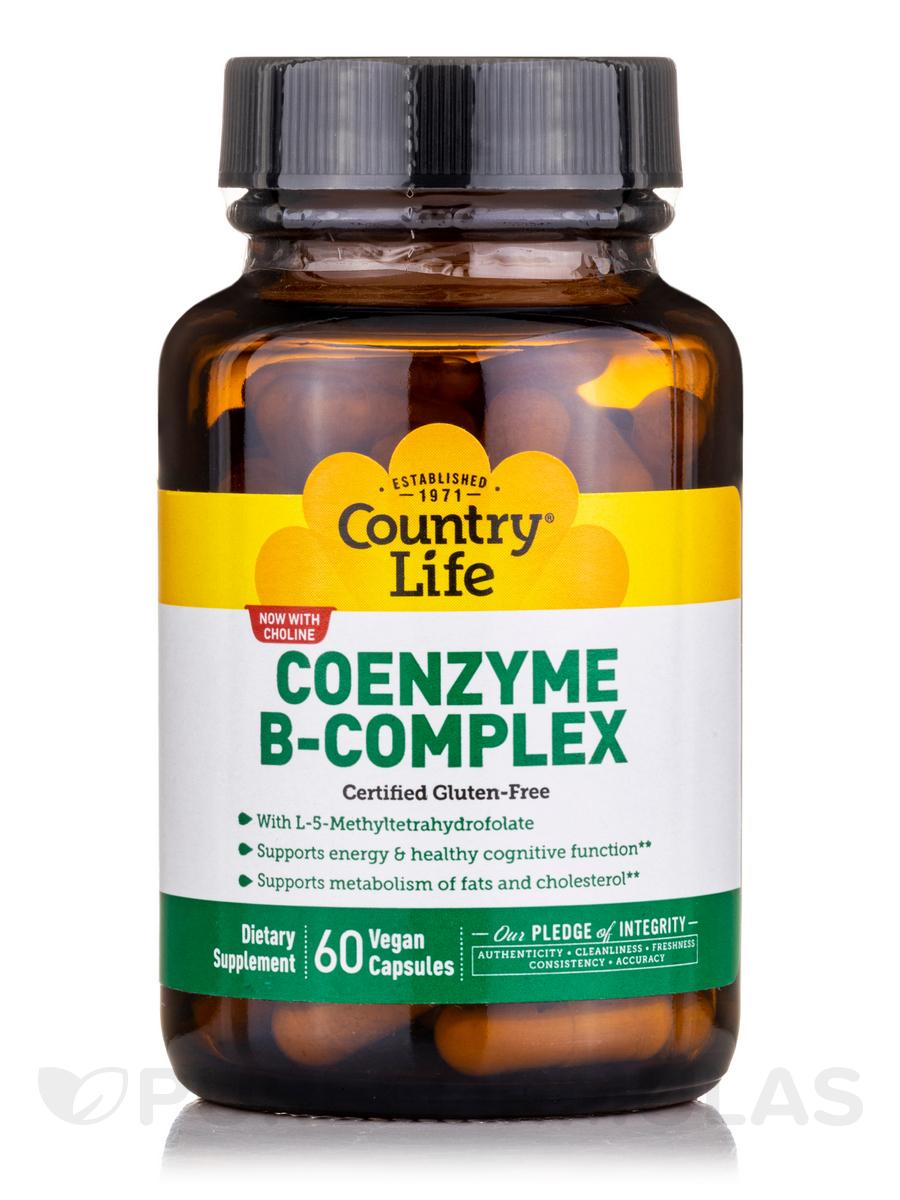 Coenzyme B-Complex Caps - 60 Vegan Capsules