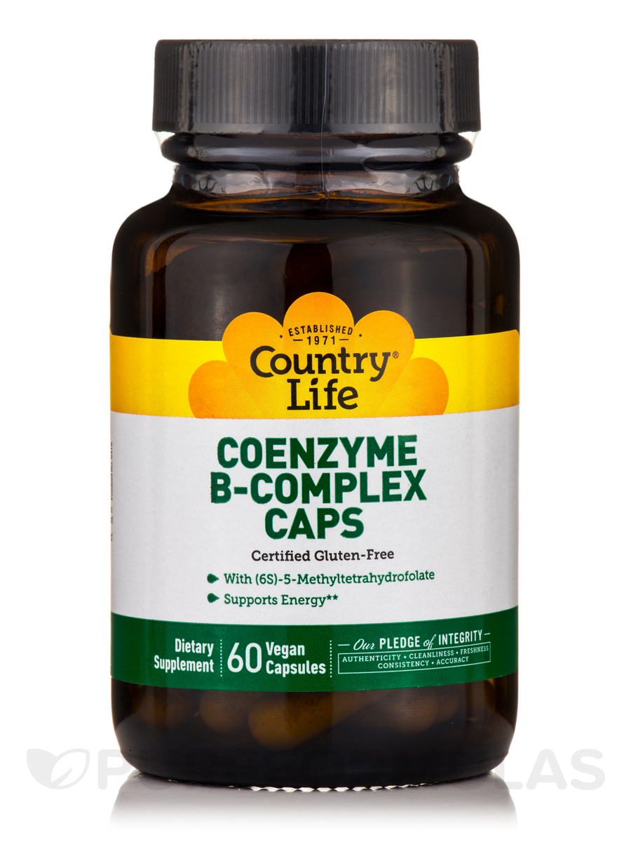 Coenzyme B-Complex - 60 Vegetarian Capsules