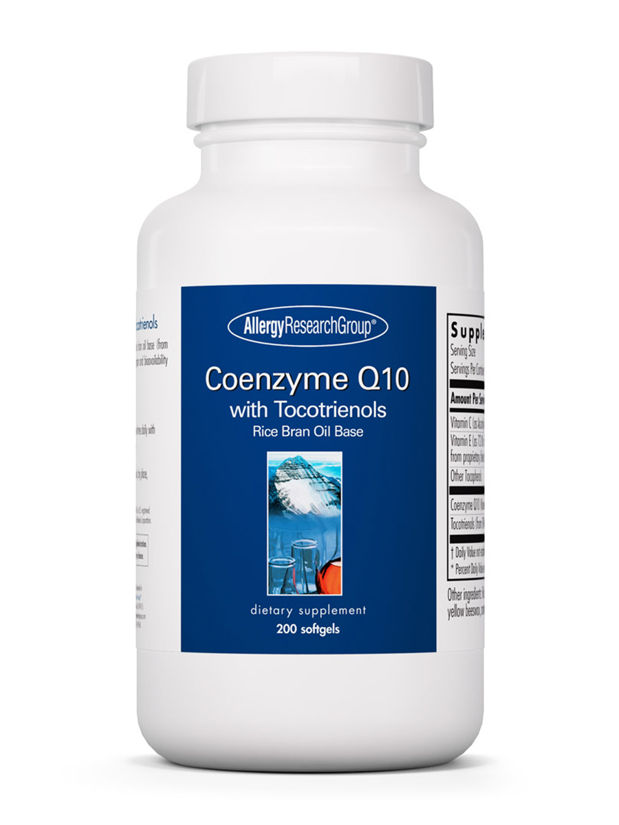 Coenzyme Q10 100 mg with Tocotrienols - 200 Softgels