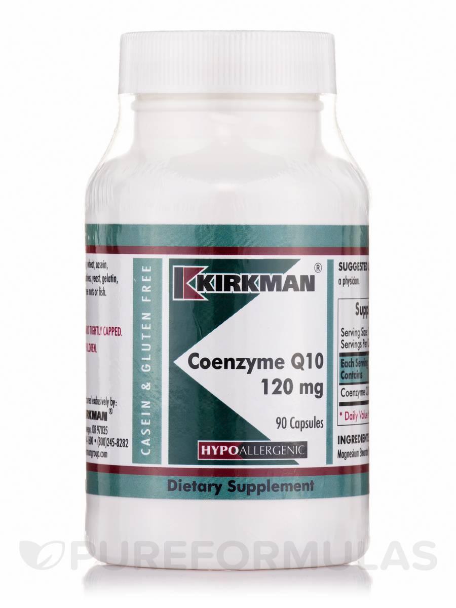 Coenzyme Q10 120 mg -Hypoallergenic - 90 Capsules