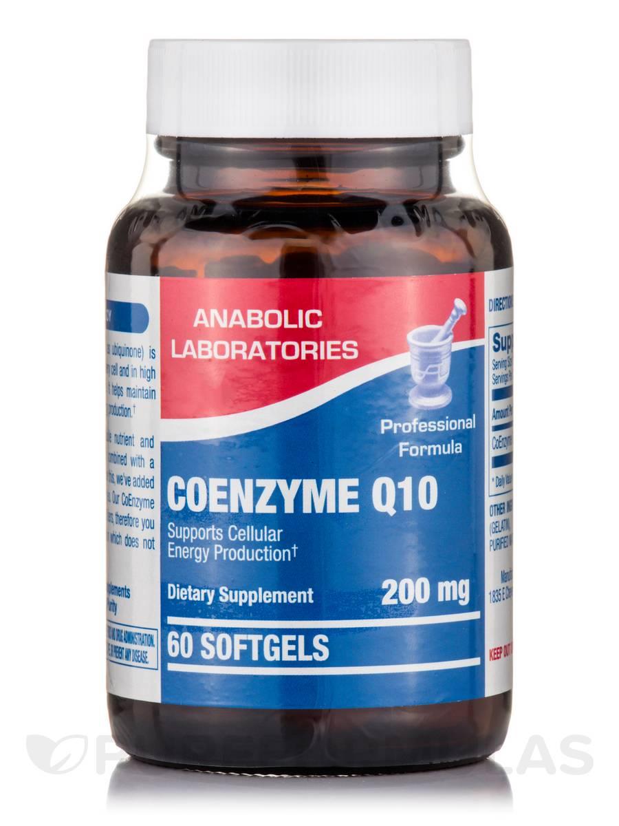 Coenzyme Q10 200 mg - 60 Softgels