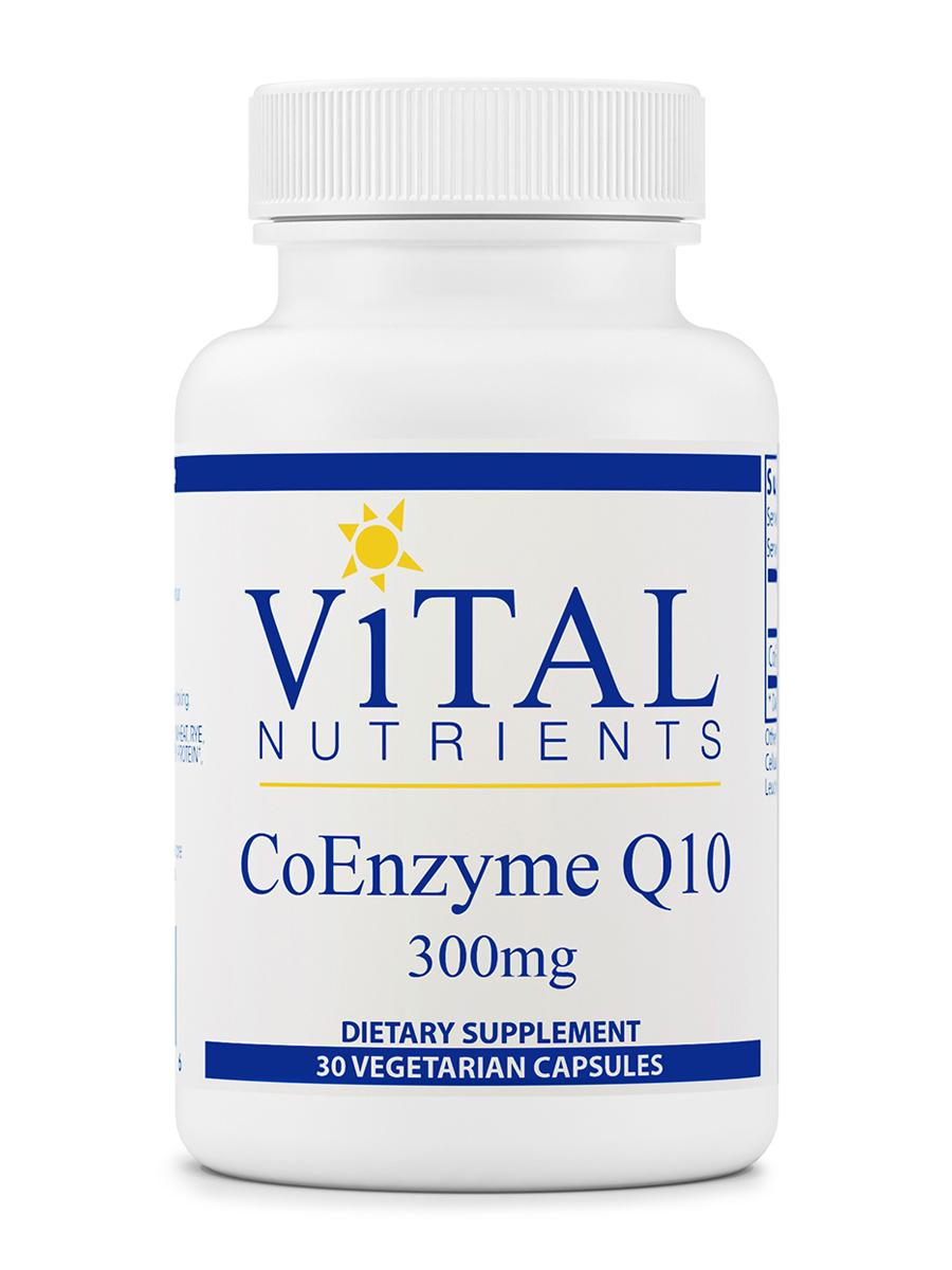 CoEnzyme Q10 300 mg - 30 Vegetarian Capsules