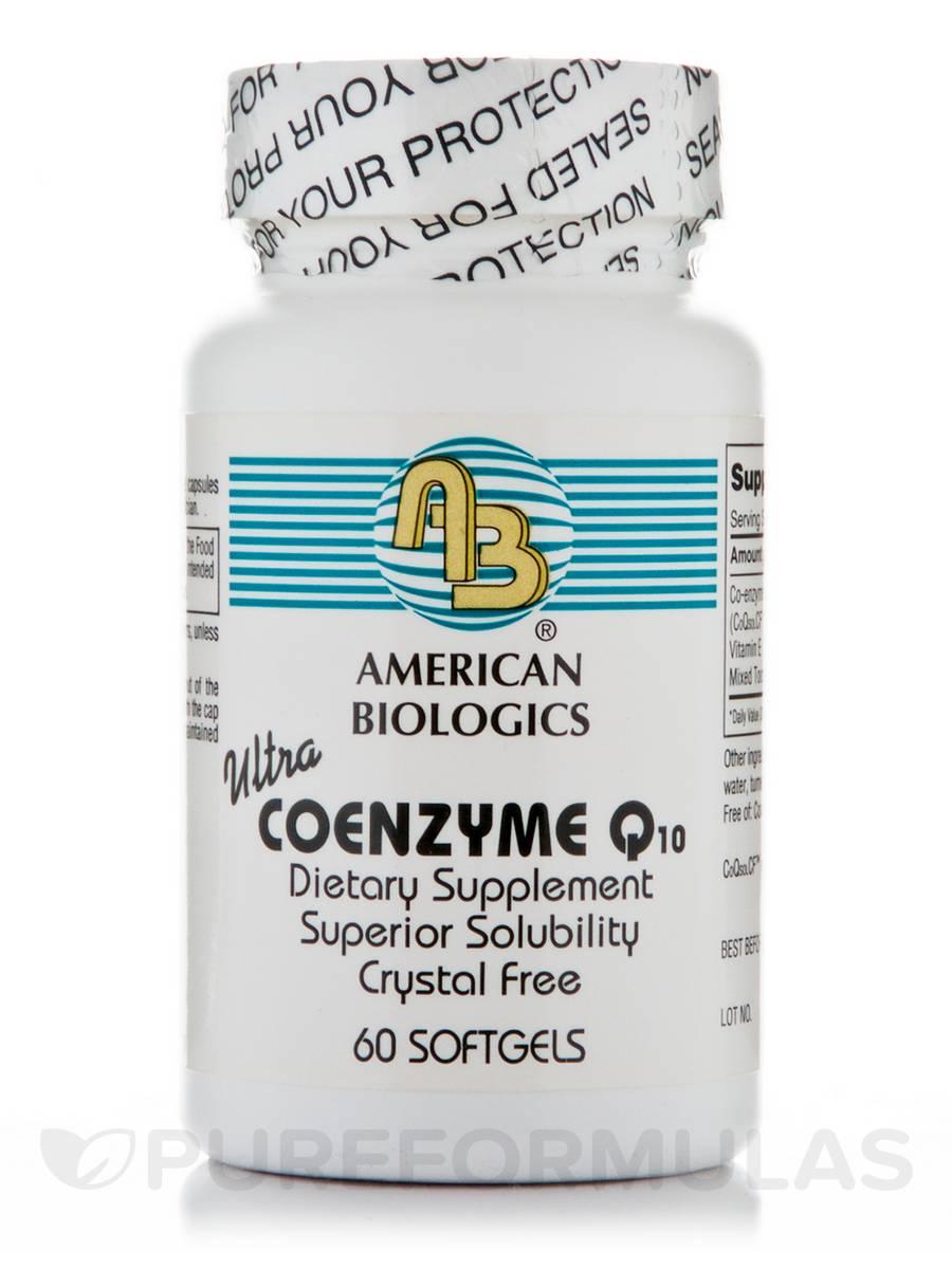 Ultra Coenzyme Q10 - 60 Softgels