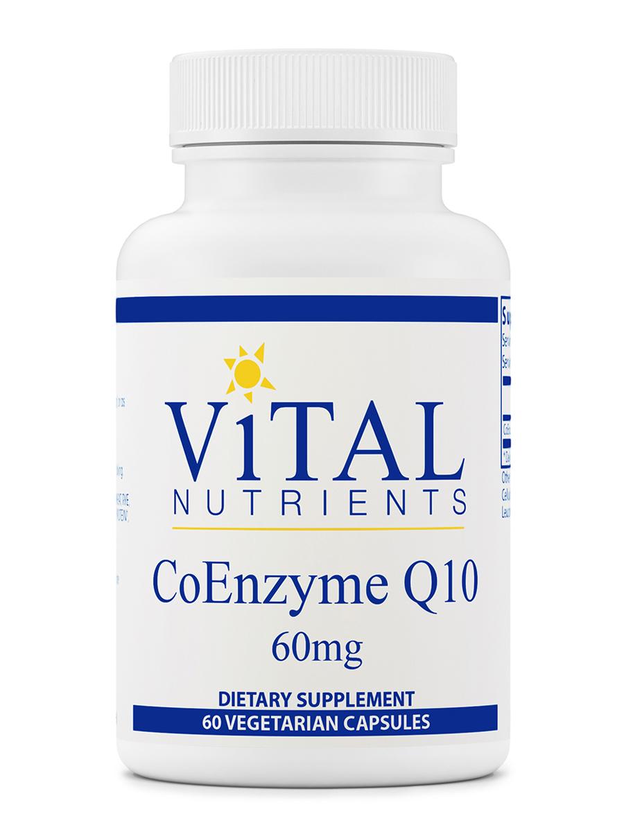 CoEnzyme Q10 60 mg - 60 Vegetarian Capsules