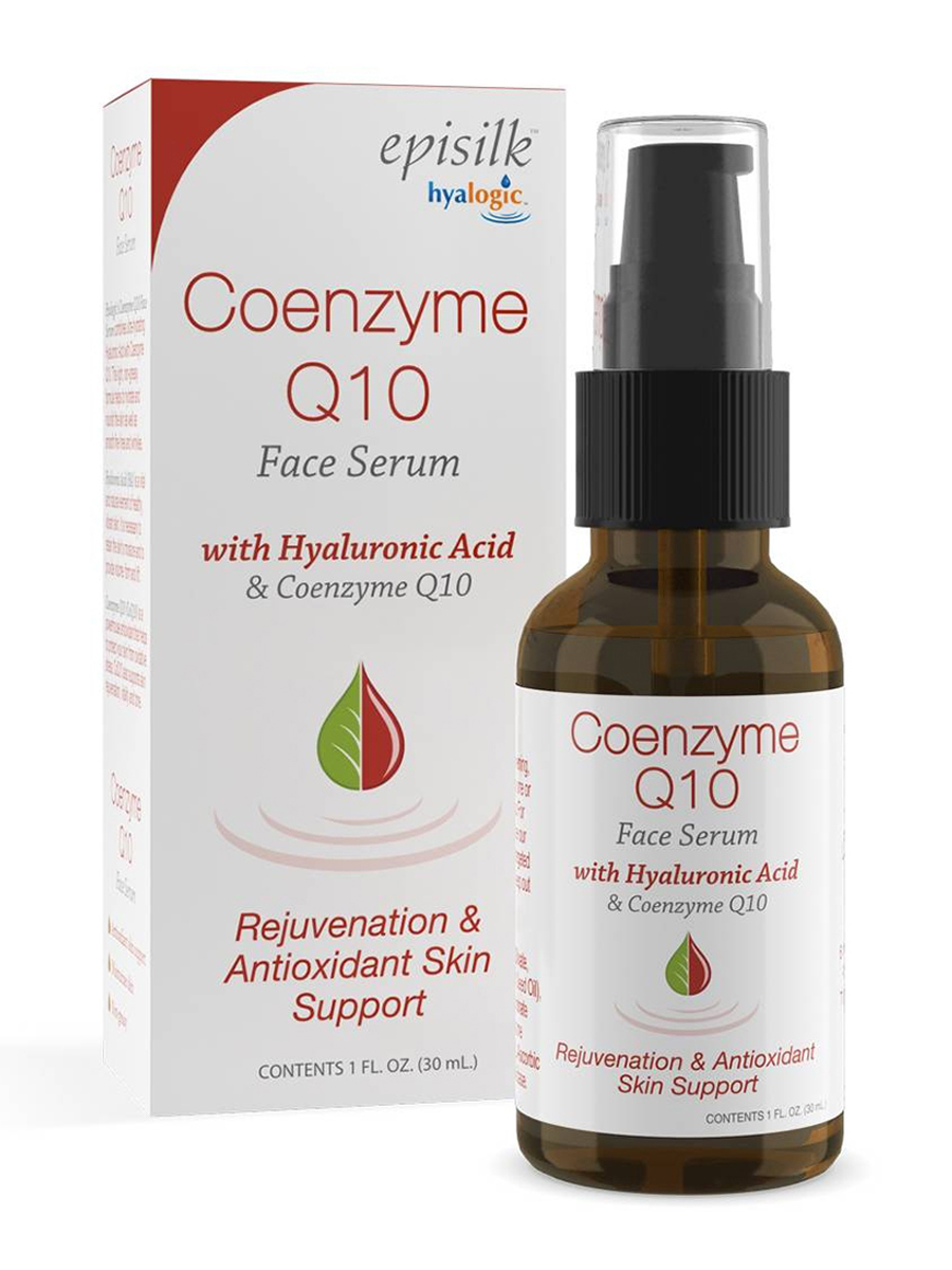Coenzyme Q10 Face Serum with Hyaluronic Acid & Coenzyme Q10 - 1 fl. oz (30 ml)