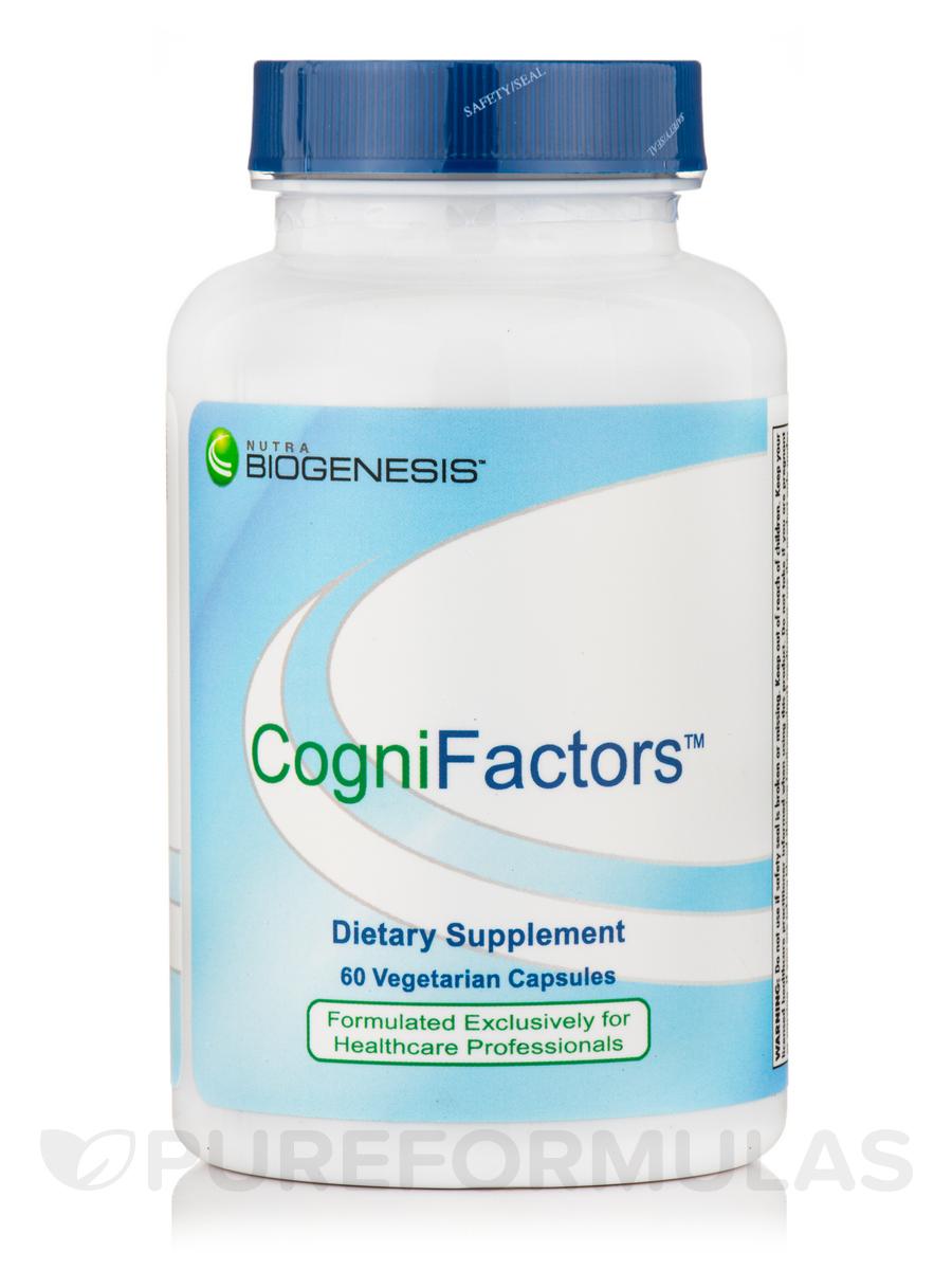 CogniFactors - 60 Veggie Capsules