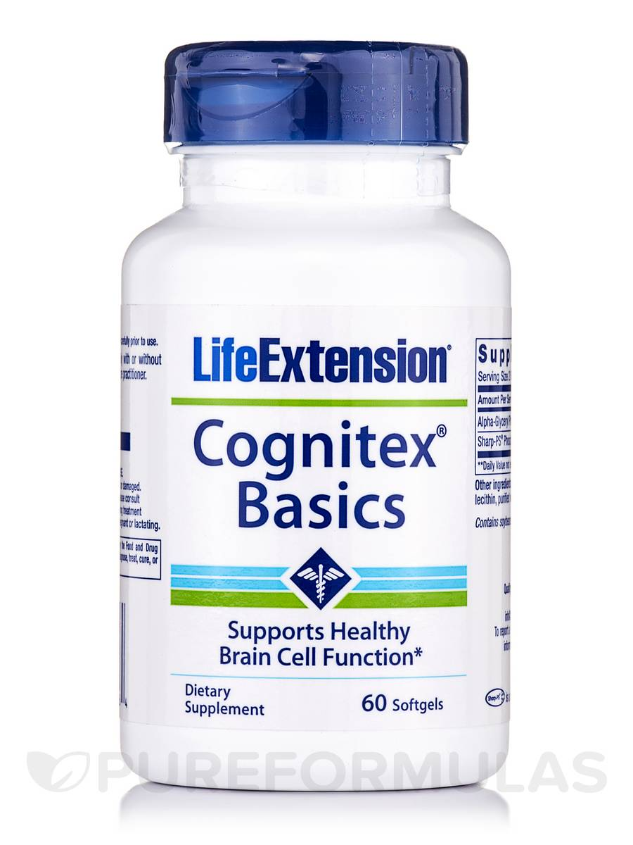 Cognitex Basics - 60 Softgels