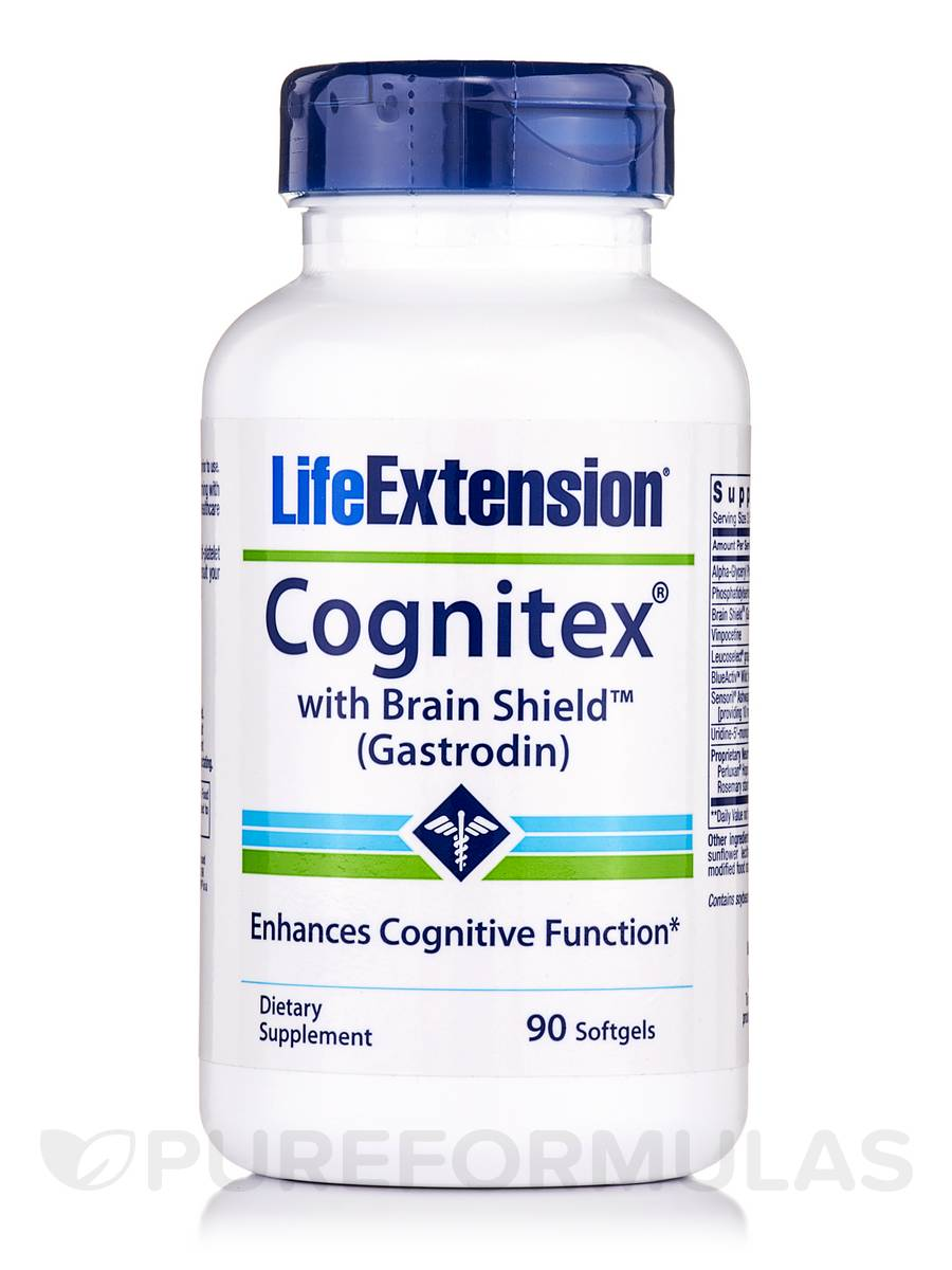 Cognitex with Brain Shield - 90 Softgels