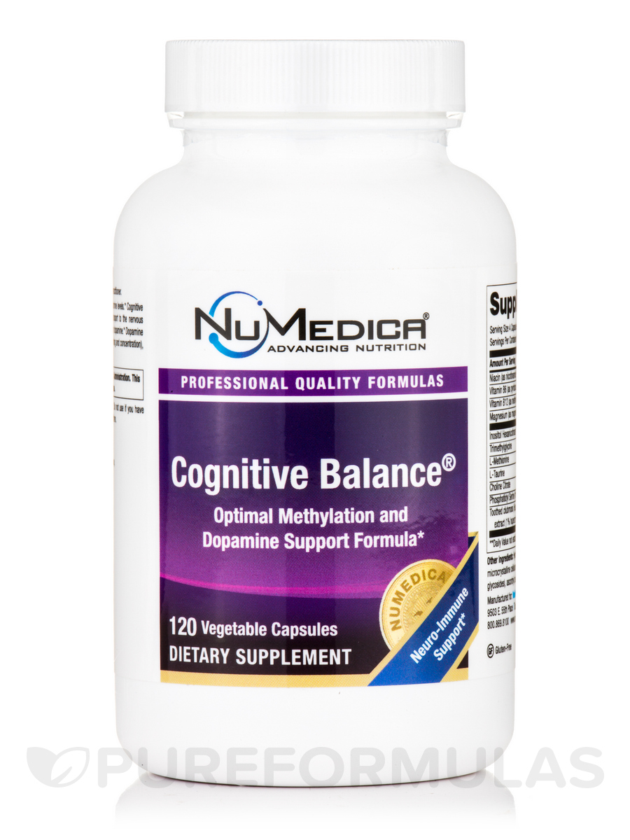 Cognitive Balance - 120 Vegetable Capsules