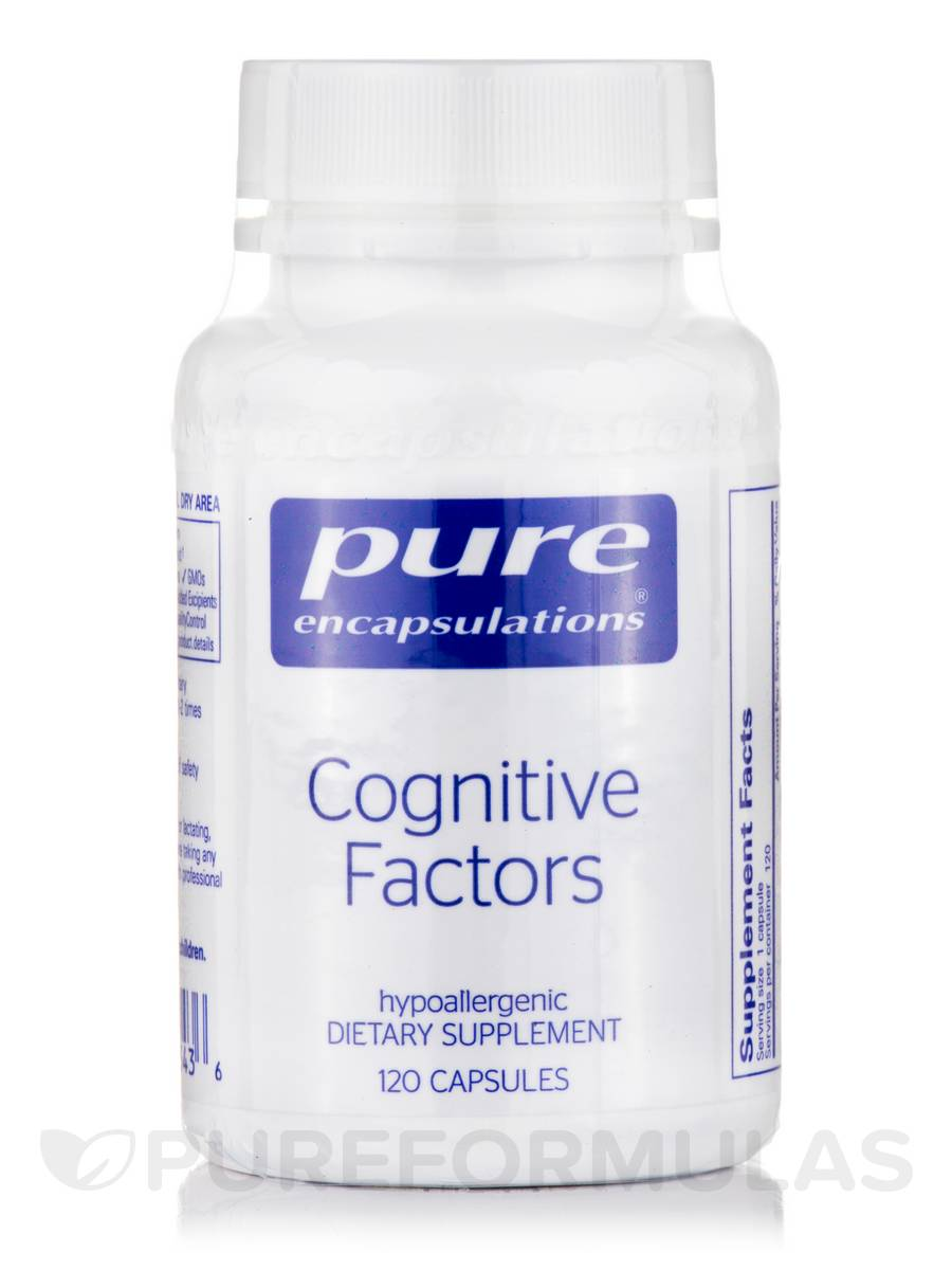 Cognitive Factors - 120 Capsules
