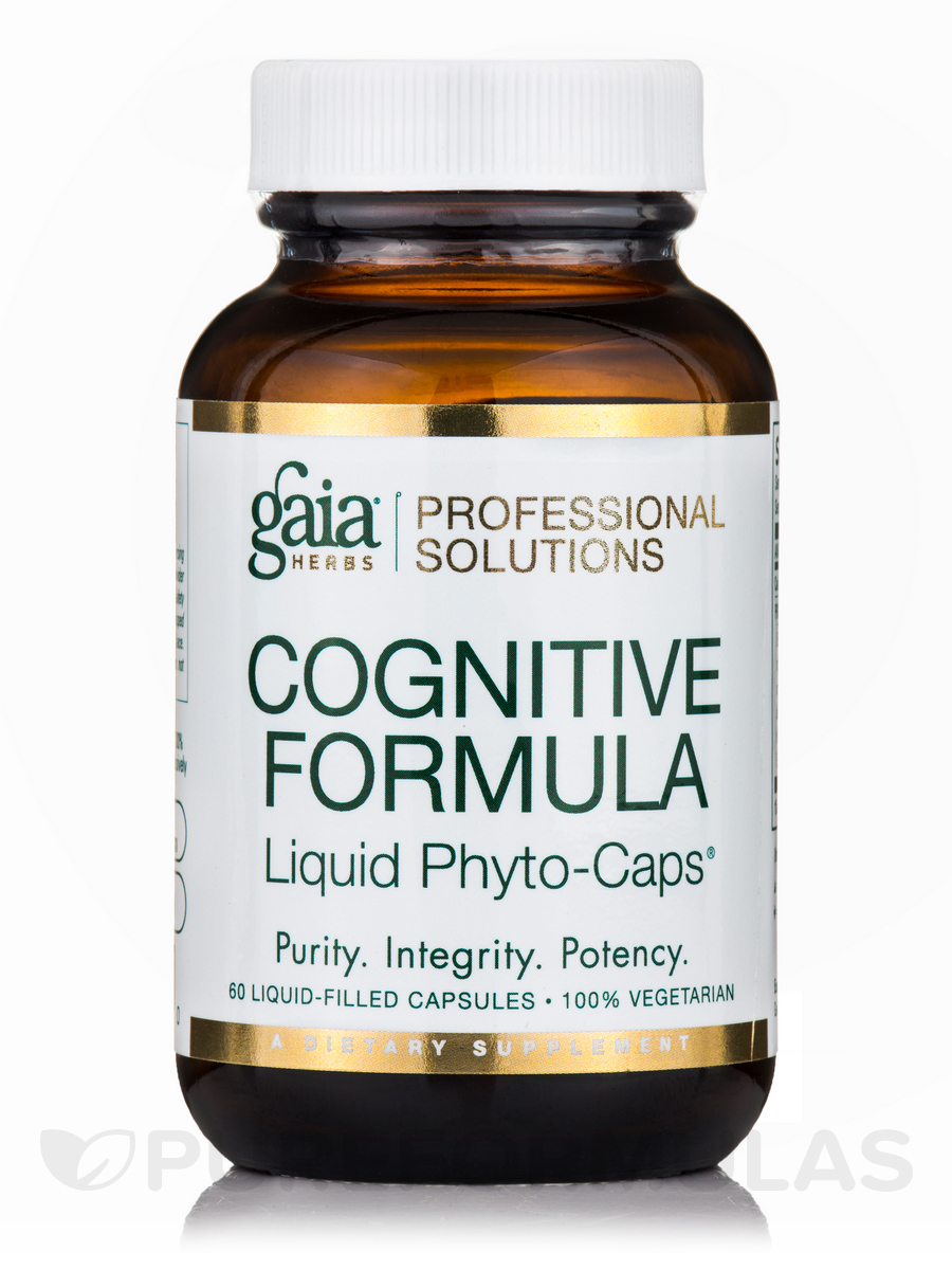 Cognitive Formula - 60 Vegetarian Liquid-Filled Capsules