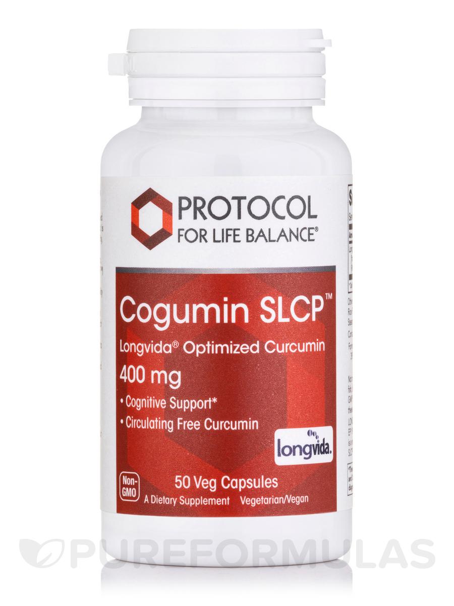 Cogumin SLCP™ (Longvida® Optimized Curcumin) 400 mg - 50 Veg Capsules