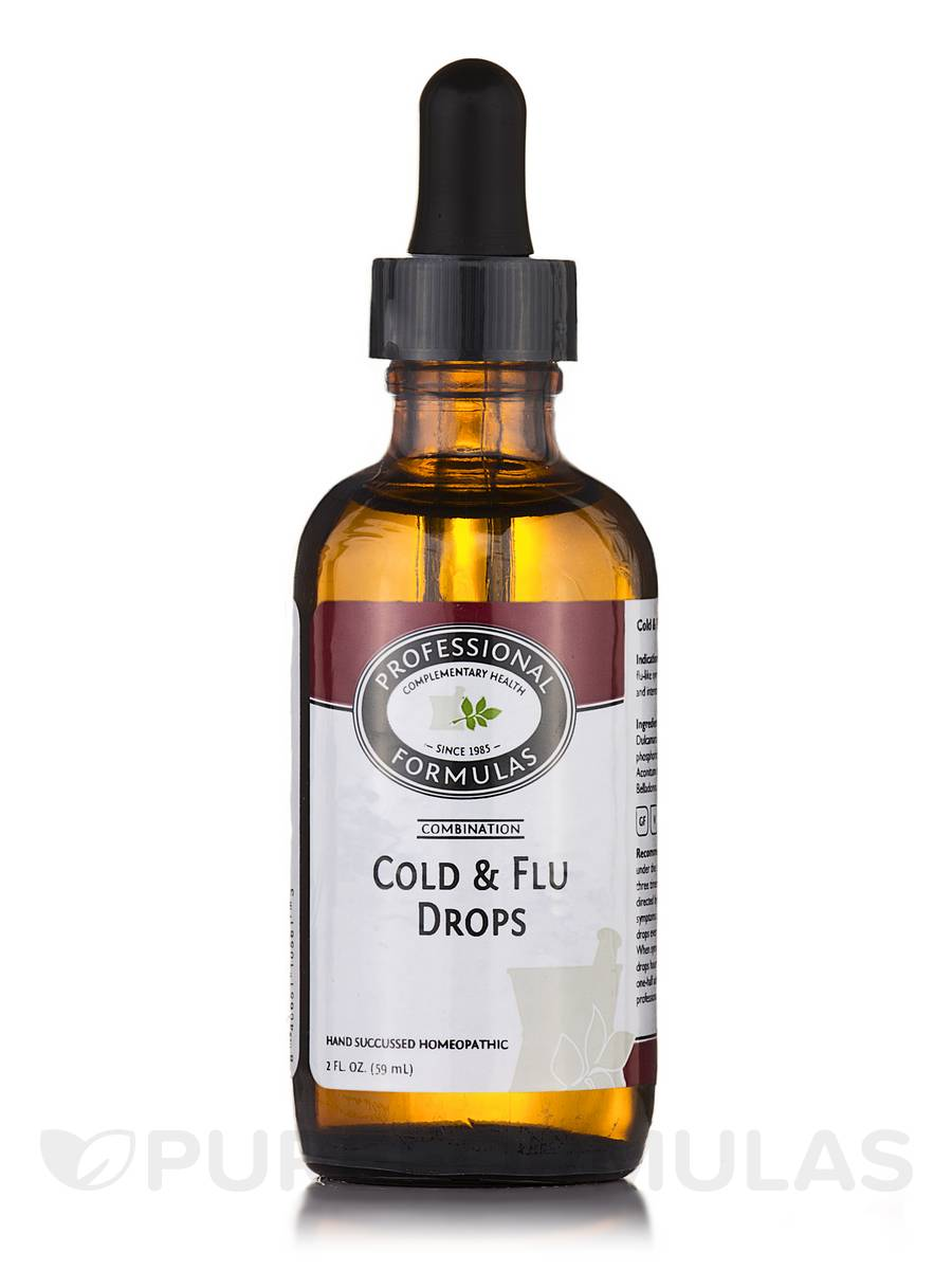 Cold & Flu Drops - 2 fl. oz (60 ml)