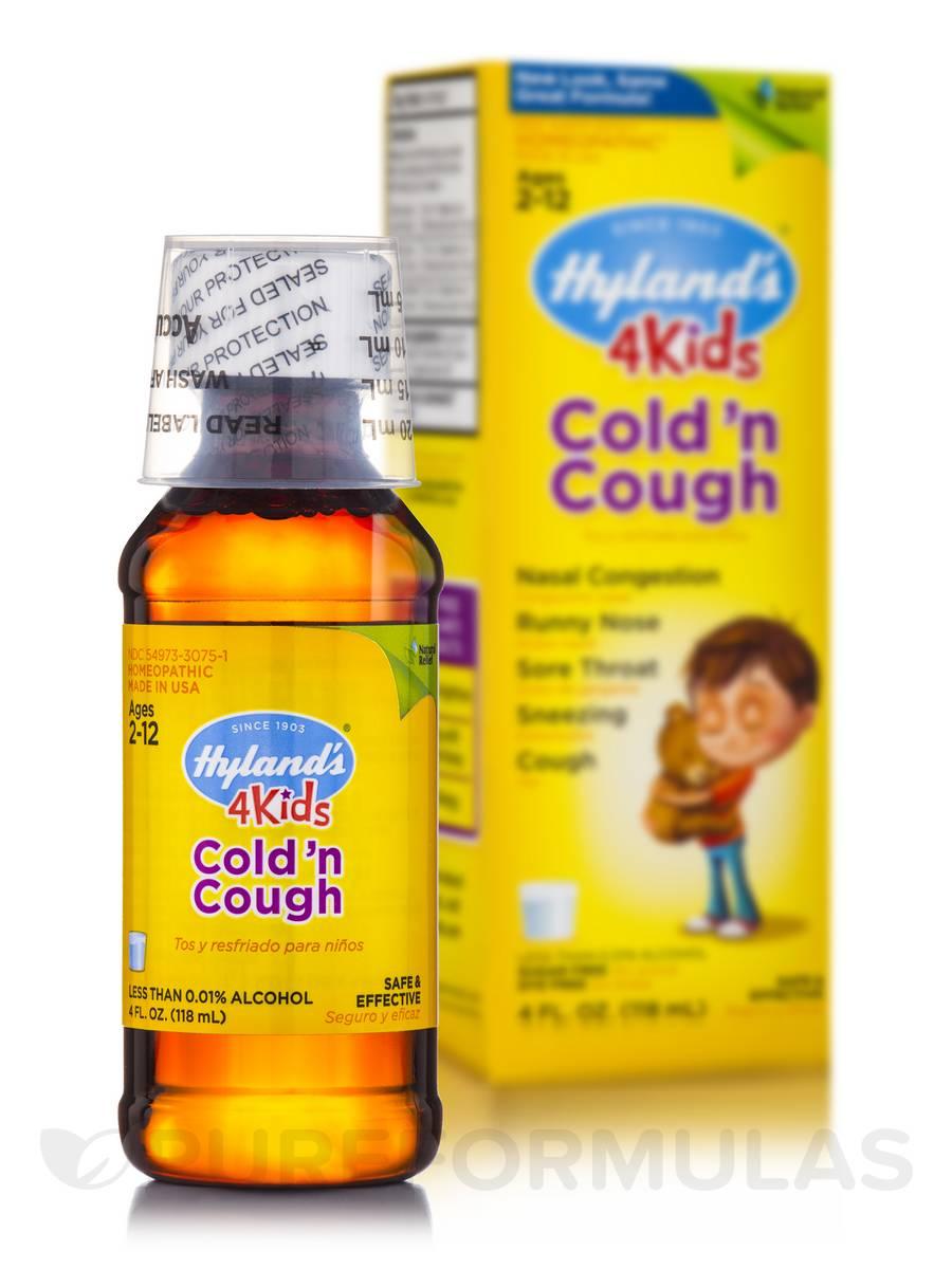 4 Kids Cold 'n Cough - 4 fl. oz (118 ml)