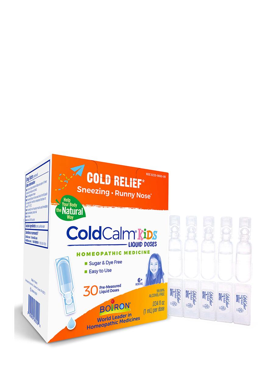 ColdCalm® Kids Liquid Doses (Cold Relief) - 30 Doses (0.034 fl. oz each)