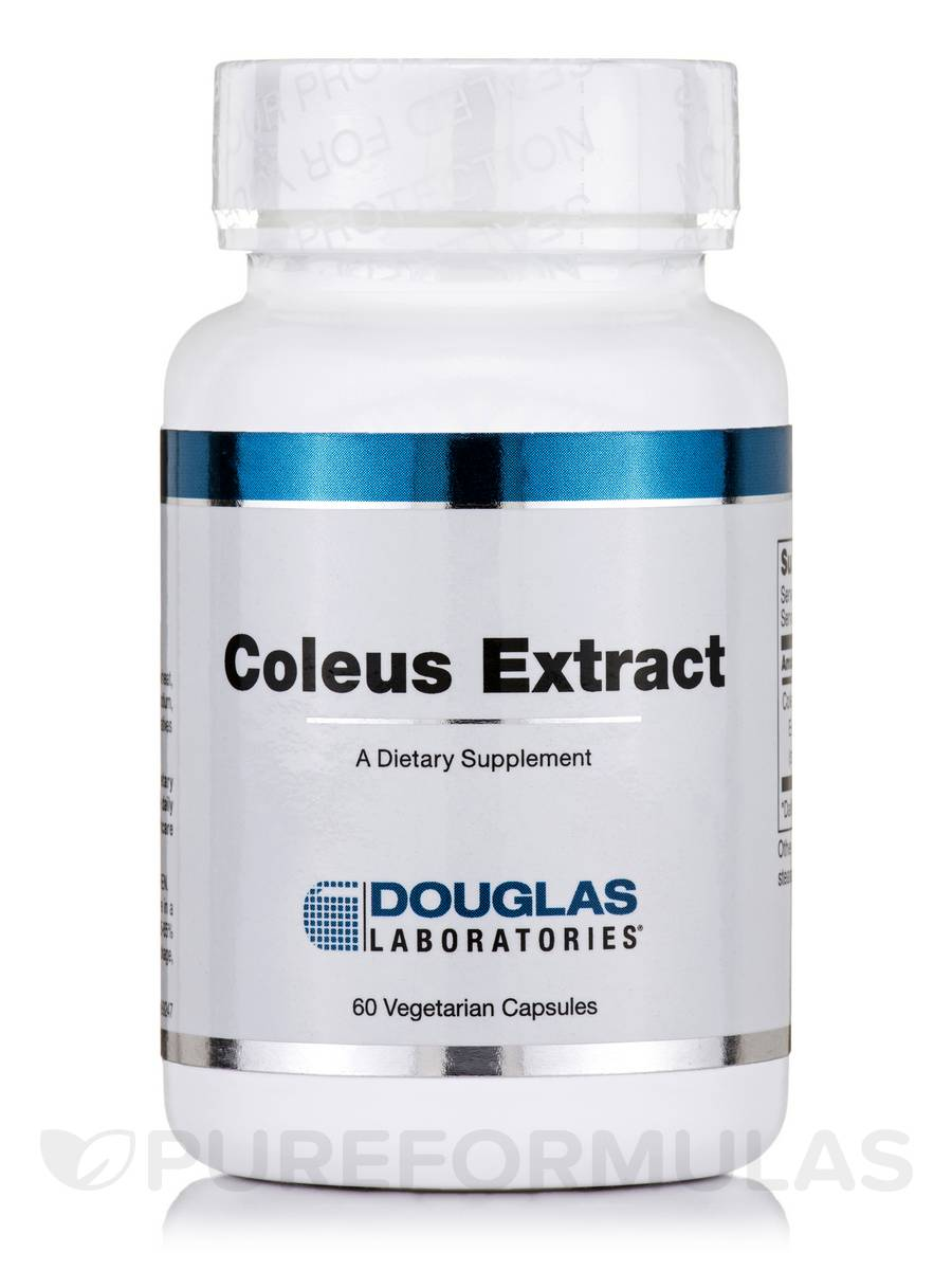 Coleus Extract - 60 Vegetarian Capsules