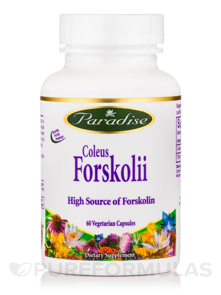 Coleus Forskolii Extract - 60 Vegetarian Capsules