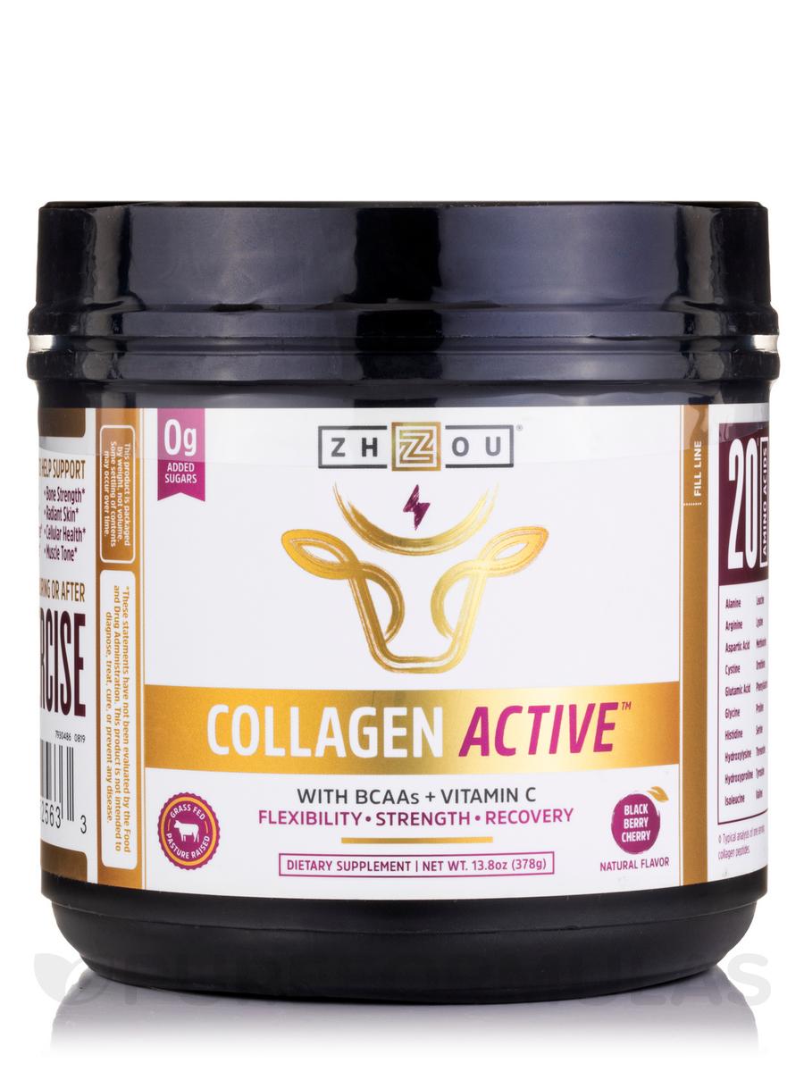 Collagen Active™ Black Berry Cherry Flavor - 13.8 oz (378 Grams)