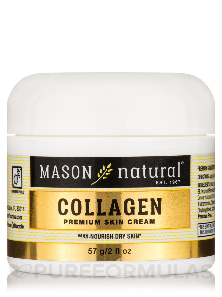 Collagen Beauty Cream, Pear Scented - 2 oz (57 Grams)