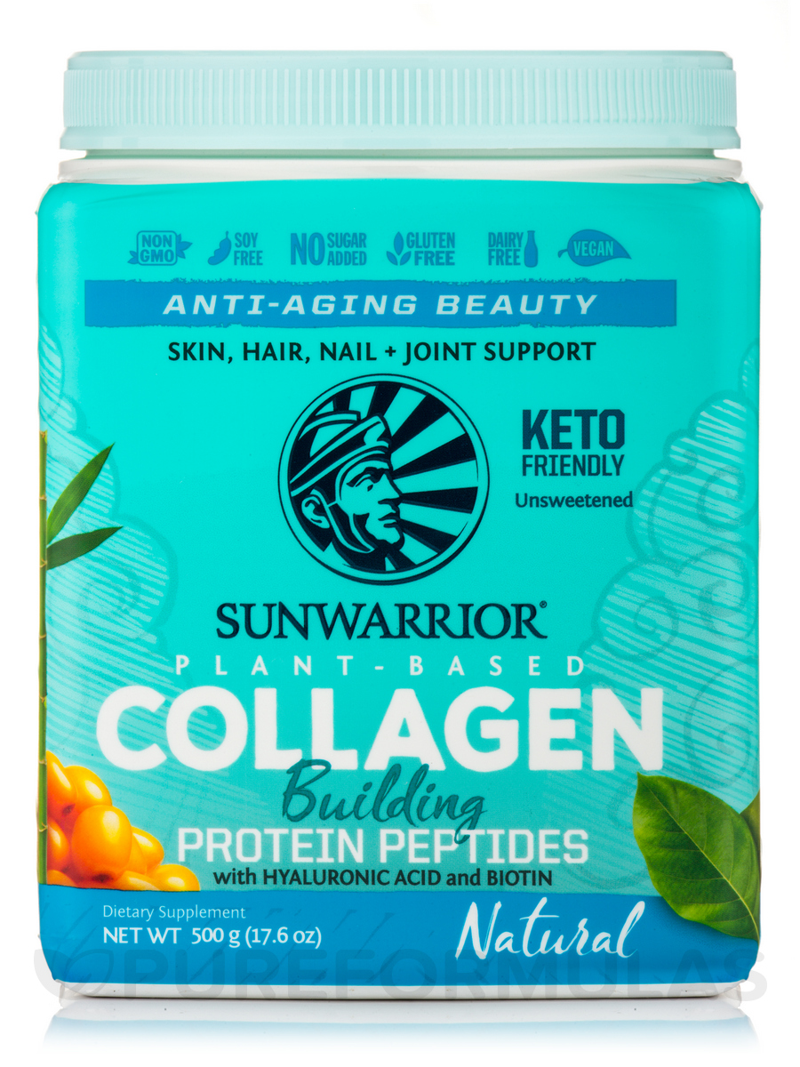 Collagen Building Protein Peptides, Unflavored - 17.6 oz (500 Grams)