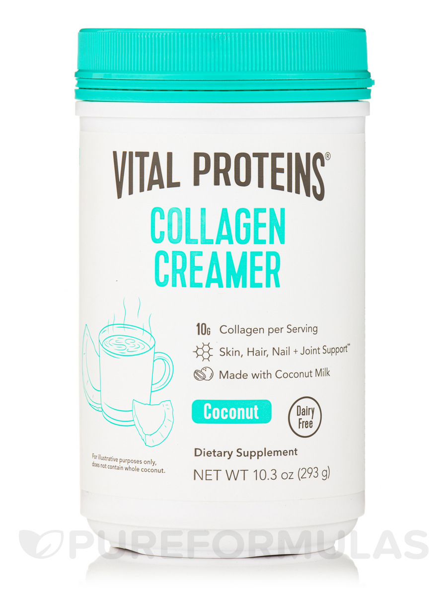 Collagen Creamer, Coconut - 10.3 oz (293 Grams)
