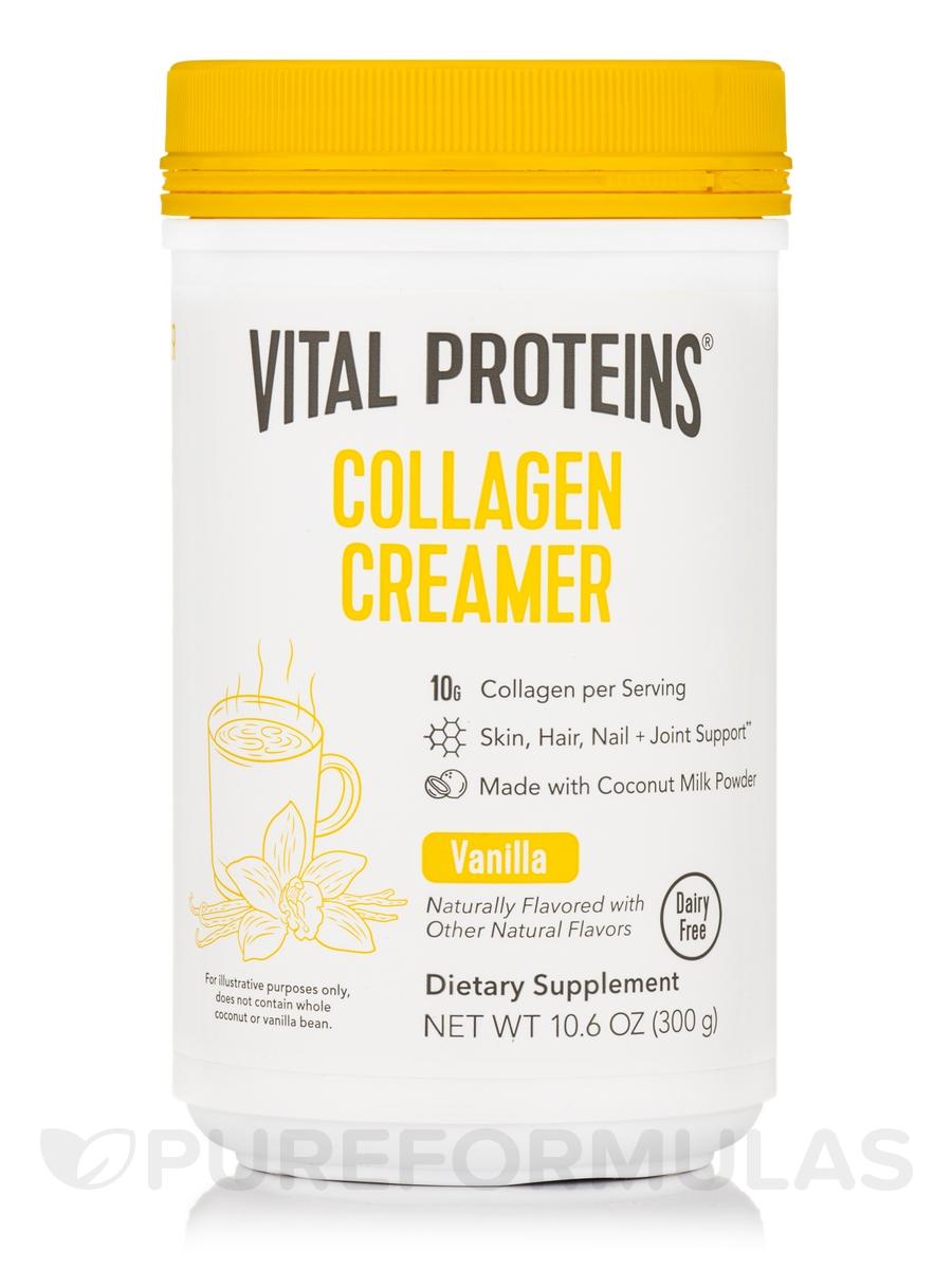 Collagen Creamer, Vanilla - 10.6 oz (300 Grams)