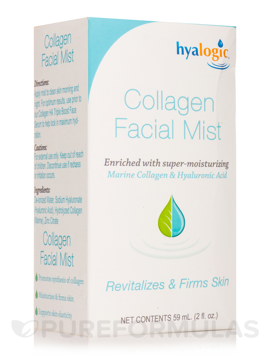 Collagen Facial Mist (Marine Collagen & Hyaluronic Acid) - 2 fl. oz (59 ml)