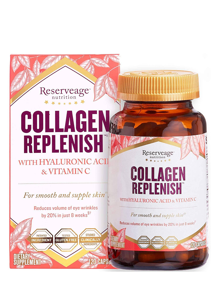 Collagen Replenish™ with Hyaluronic Acid and Vitamin C - 120 Capsules