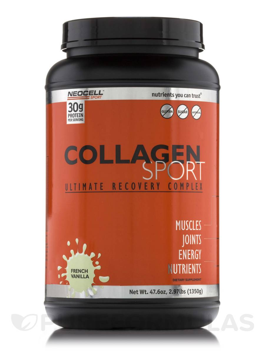 Collagen Sport Ultimate Recovery Complex French Vanilla - 2.97 lbs (47.6 oz / 1350 Grams)