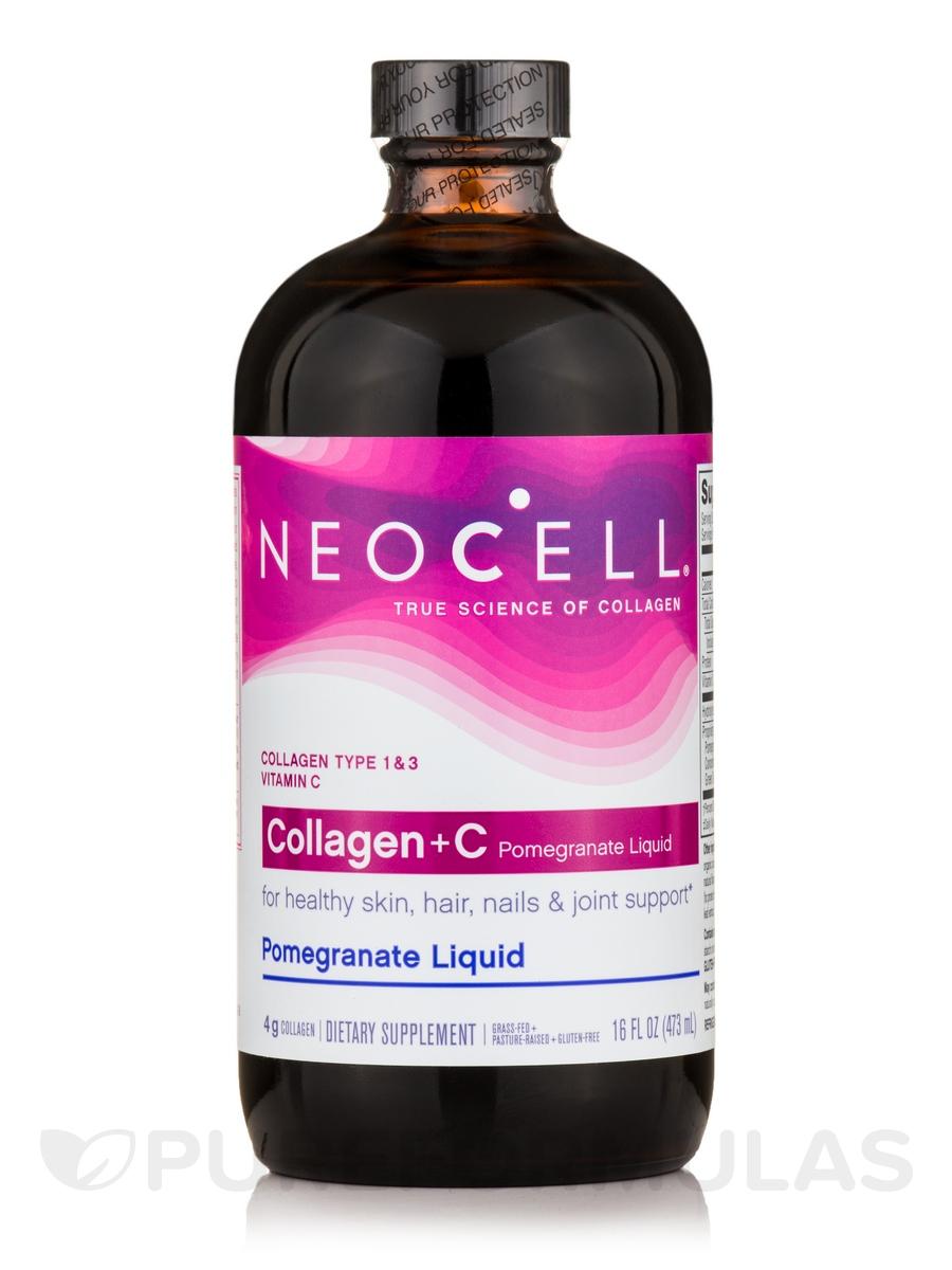 Collagen+C™ Pomegranate Liquid - 16 fl. oz (473 ml)