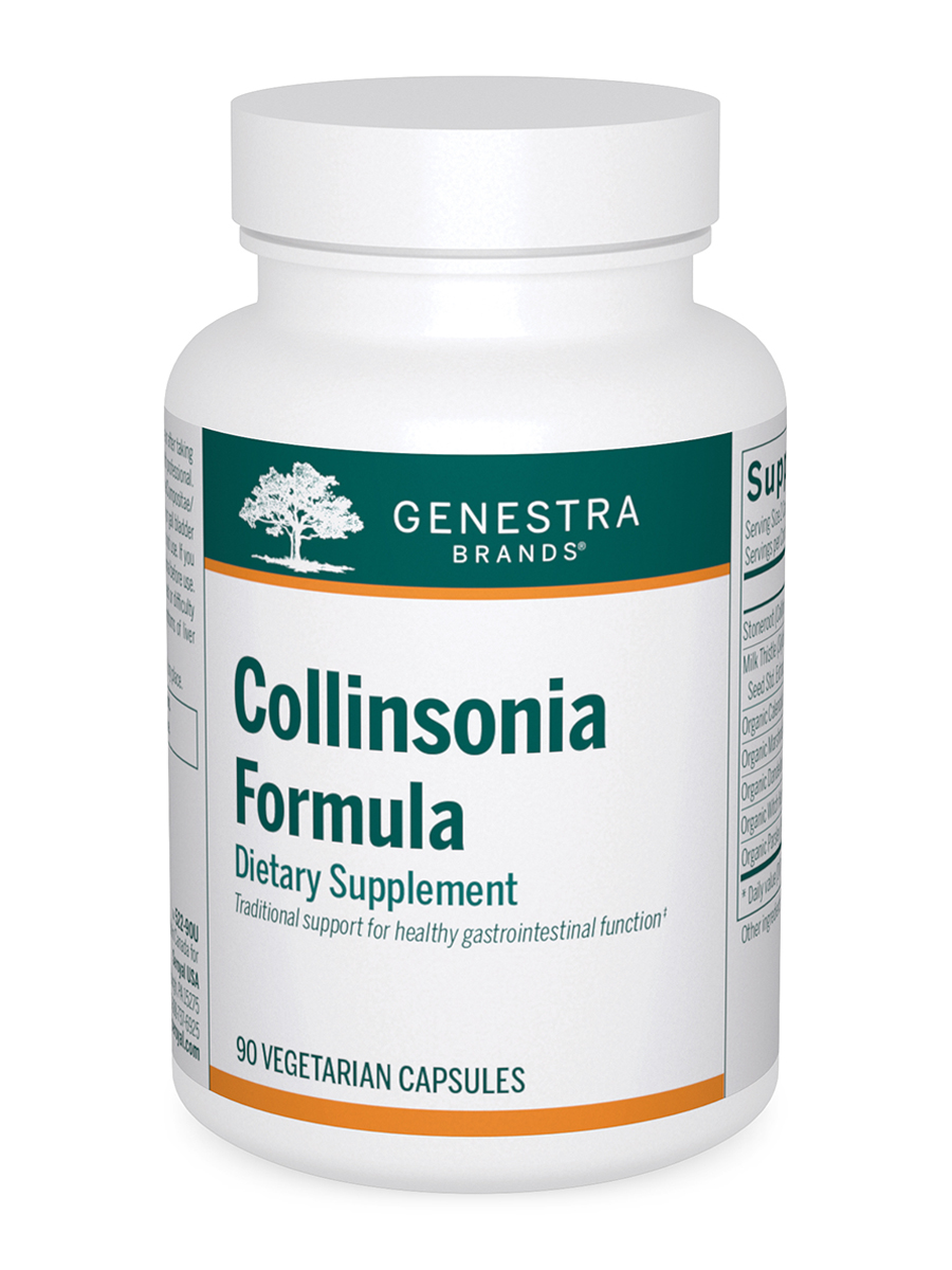 Collinsonia Formula - 90 Vegetable Capsules