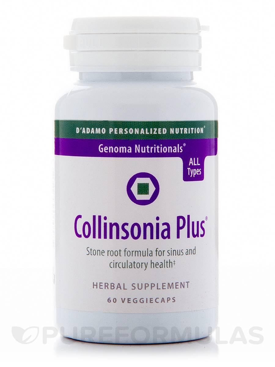 Collinsonia Plus - 60 Veggie Capsules